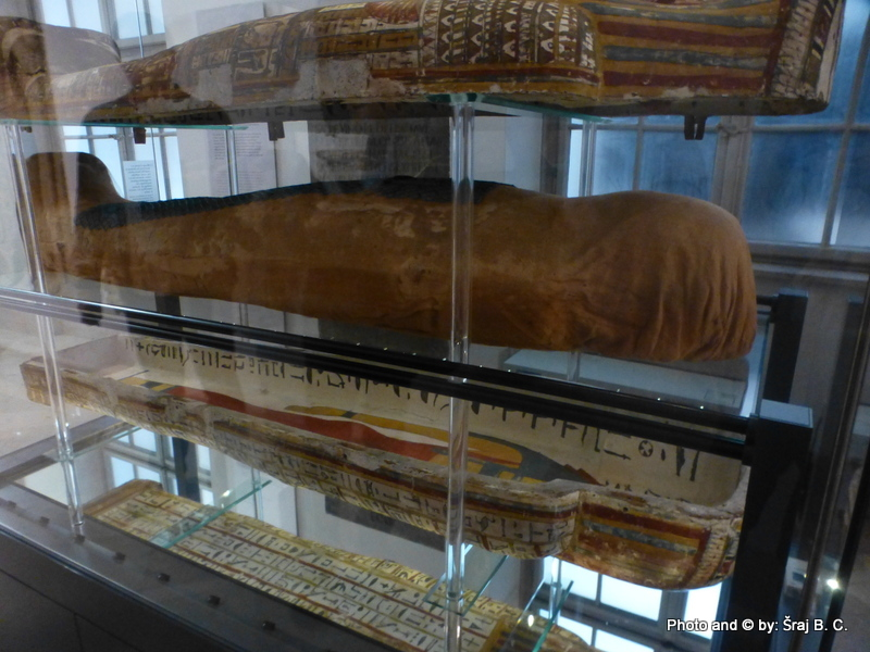 The Slovenian National Museum - Egipt Mummy